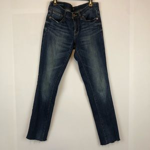 Lucky brand Charlie skinny jeans size 2/26R